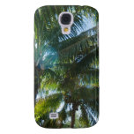 Tropical palms lit by the sun HTC vivid cover
