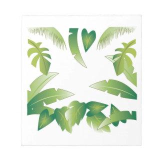 Tropical Palms Memo Notepad