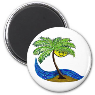 Tropical palmtree magnets