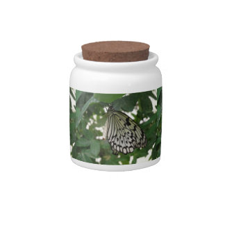Tropical Paper Kite Butterfly Candy Jar