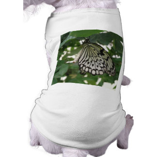 Tropical Paper Kite Butterfly Dog T Shirt