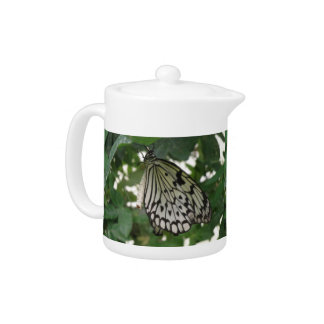 Tropical Paper Kite Butterfly Teapot