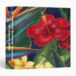 "Tropical Paradise 1.5"" Binder"
