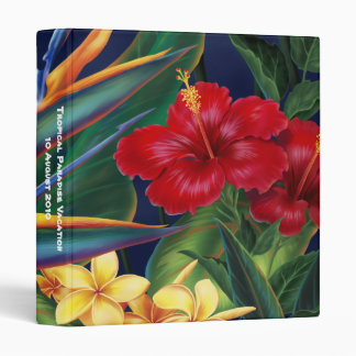 "Tropical Paradise 1"" Binder"