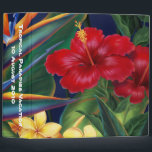 """Tropical Paradise 2&quot; Binder<br><div class=""""desc"""">This original digital painting by renowned illustrator Jeff Fillbach is an explosion of the colors of some of nature&#39;s most beautiful flowers. Featuring an array of birds of paradise, plumeria and hibiscus, the items in our Tropical Paradise collection will lift your spirits, and fuel your dreams. Bring paradise to your...</div>"""