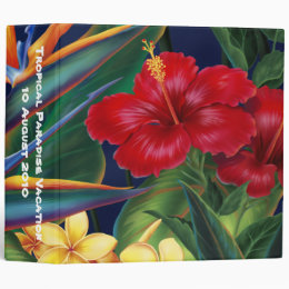 "Tropical Paradise 2"" Binder"