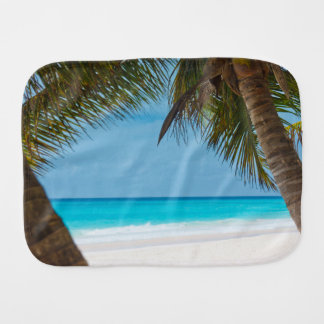 Tropical Paradise Baby Shower New Parents Baby Burp Cloth