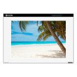 "Tropical Paradise Beach 15"" Laptop Decals"