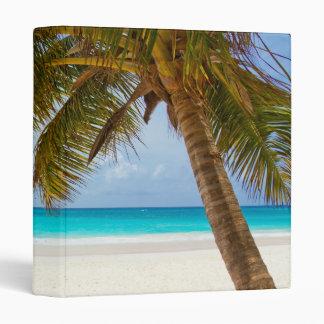 Tropical Paradise Beach 3 Ring Binder