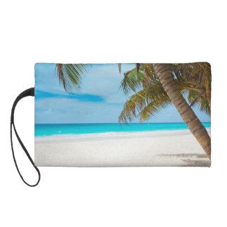 Tropical Paradise Beach Wristlet Purse