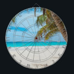 """Tropical Paradise Beach Dart Board<br><div class=""""desc"""">Do you need a tropical vacation? With this amazing photo you&#39;ll fly to your favorite beach in seconds.</div>"""