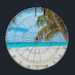 "Tropical Paradise Beach Dart Board<br><div class=""desc"">Do you need a tropical vacation? With this amazing photo you&#39;ll fly to your favorite beach in seconds.</div>"