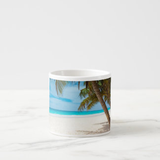 Tropical Paradise Beach Espresso Cup