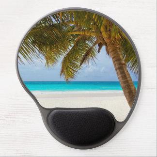 Tropical Paradise Beach Gel Mouse Mats