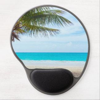 Tropical Paradise Beach Gel Mouse Mat
