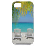 Tropical paradise beach in the Caribbean iPhone 5 Cases