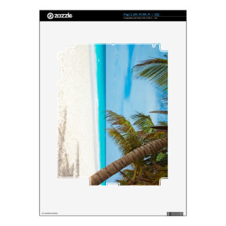Tropical Paradise Beach iPad 2 Decal