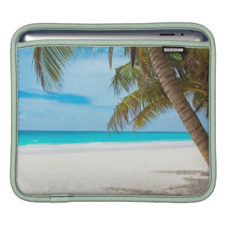 Tropical Paradise Beach iPad Sleeve