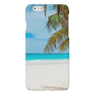 Tropical Paradise Beach Glossy iPhone 6 Case