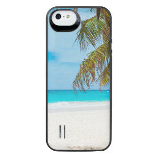 Tropical Paradise Beach Uncommon Power Gallery™ iPhone 5 Battery Case