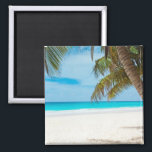 """Tropical Paradise Beach Magnet<br><div class=""""desc"""">Do you need a tropical vacation? With this amazing photo you&#39;ll fly to your favorite beach in seconds.</div>"""