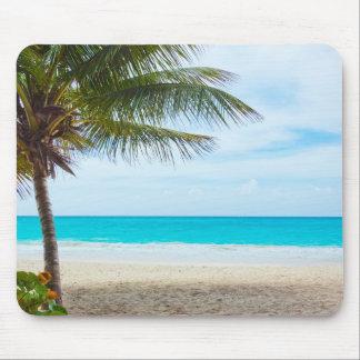 Tropical Paradise Beach Mouse Pads