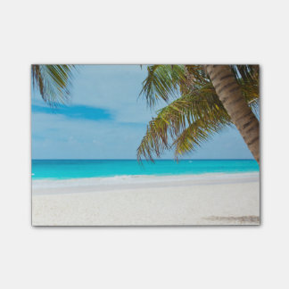 Tropical Paradise Beach Post-it® Notes