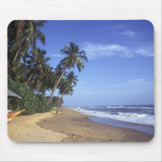 Tropical Paradise Beach Scene Mousepad