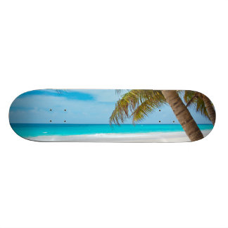 Tropical Paradise Beach Skateboard Deck