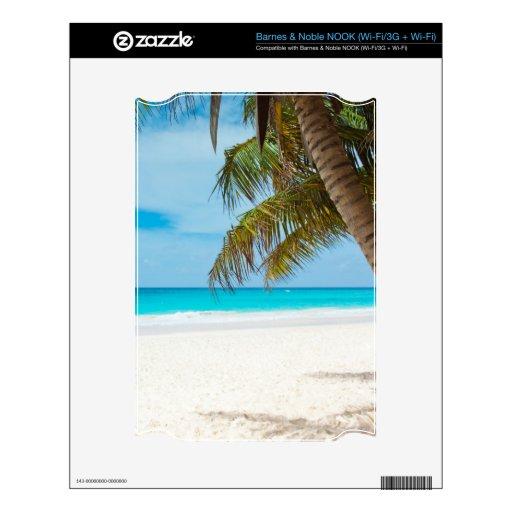 Tropical Paradise Beach Skin For NOOK