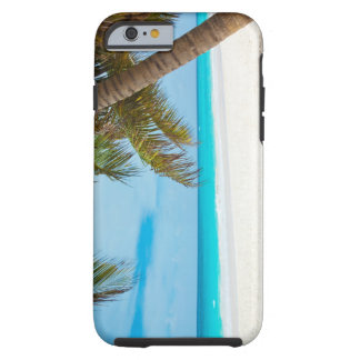 Tropical Paradise Beach Tough iPhone 6 Case