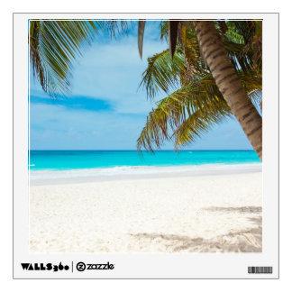 Tropical Paradise Beach Wall Sticker