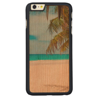 Tropical Paradise Beach Carved® Cherry iPhone 6 Plus Slim Case