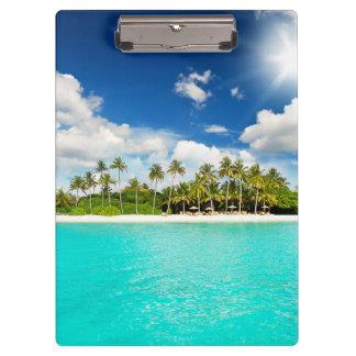 Tropical Paradise Clipboard