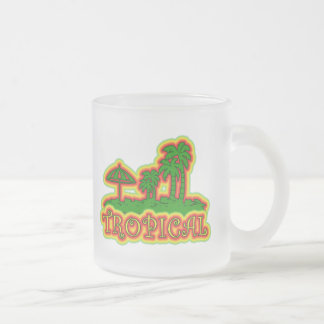 Tropical Paradise Coffee Mugs