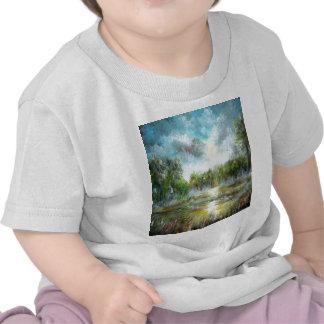 Tropical Paradise Design T-shirt