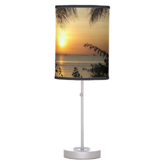 Tropical Paradise Desk Lamps