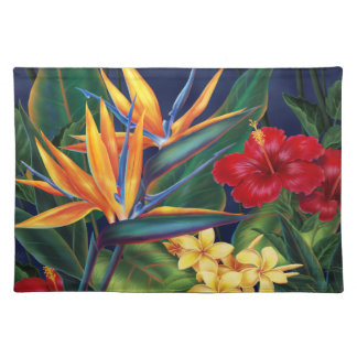 Tropical Paradise Dinner Placemats