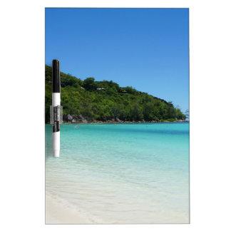 tropical paradise Dry-Erase board