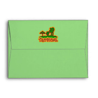 Tropical Paradise Envelope