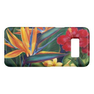 Tropical Paradise Hawaiian Floral Horizontal Case-Mate Samsung Galaxy S8 Case