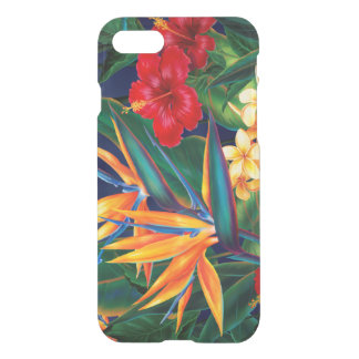 Tropical Paradise Hawaiian Floral iPhone 7 Case