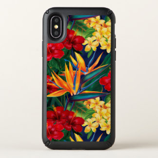 Tropical Paradise Hawaiian Floral Speck iPhone X Case