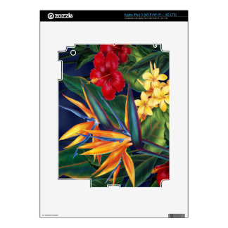 Tropical Paradise Hawaiian iPad 3 or Tablet Skin Decal For iPad 3