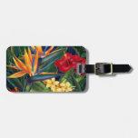 Tropical Paradise Hawaiian Luggage Tags at Zazzle