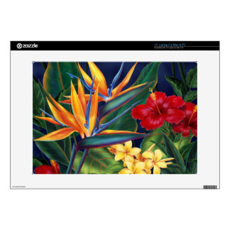 Tropical Paradise Hawaiian Mac or PC Laptop Skin