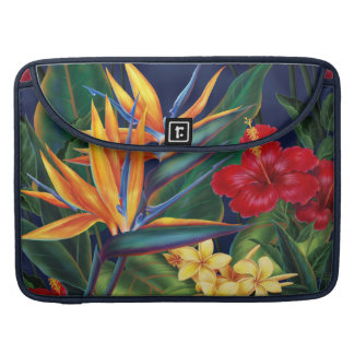Tropical Paradise Hawaiian MacBook Flapped Case Sleeves For MacBooks
