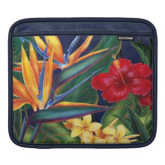 Tropical Paradise Hawaiian Rickshaw iPad Case Sleeves For iPads