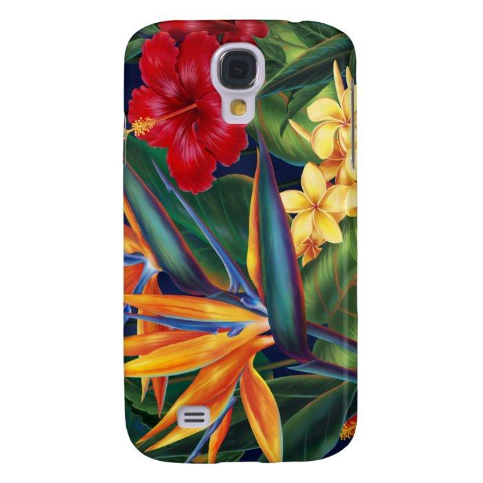 Tropical Paradise Hawaiian Samsung Galaxy S4 Cover