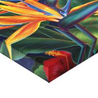 Hawaiian wrapped canvas prints